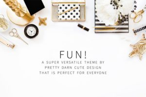 Fun WordPress Blog + Shop Genesis Framework Theme