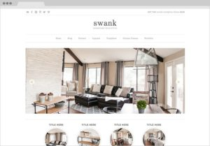Swank WordPress Genesis Portfolio Design Theme