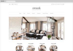 Swank WordPress Genesis Portfolio Design Theme