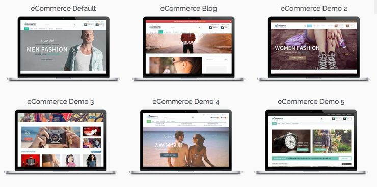 eCommerce WordPress Goods Selling Theme