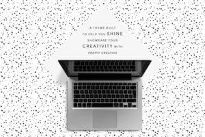 Pretty Creative WordPress Portfolio & eCommerce Theme