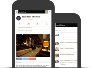 Splendor WordPress Hotel Directory Portal / Listings Theme