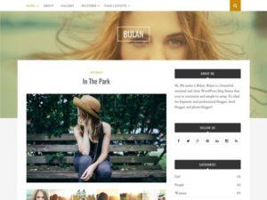 Bulan – Free WordPress Minimal & Clean Blog Theme