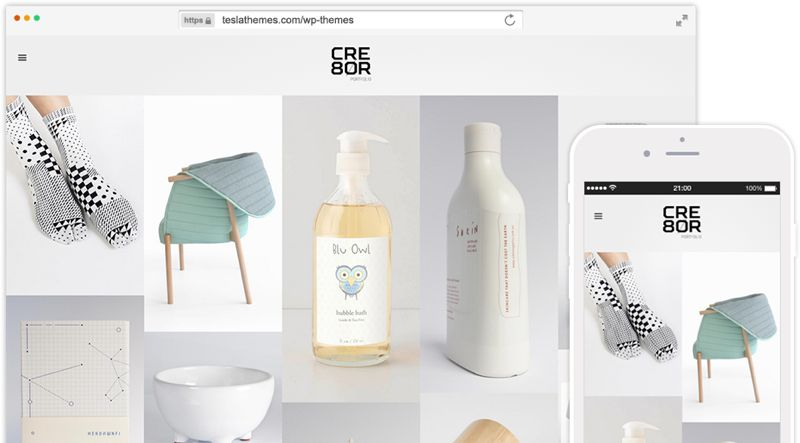 Cre8or WordPress Creative Studio Theme