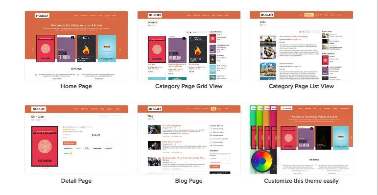 DigiSeller Online Store Theme for Digital Goods