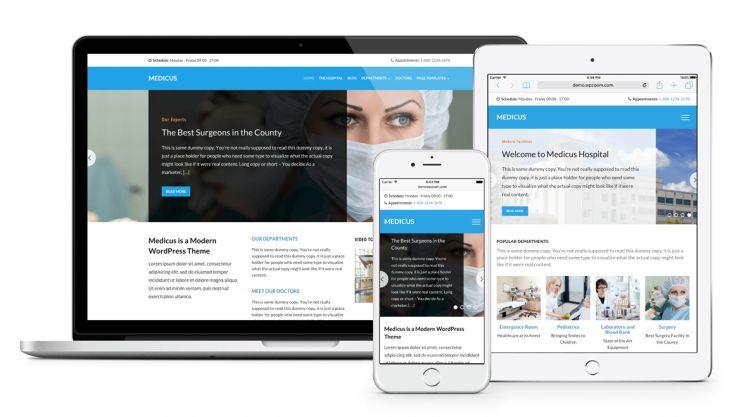 Medicus Theme for Medical, Hospitals, Clinics & Doctors