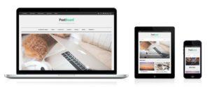 PostBoard WordPress Pinterest Like Theme & Grid Based