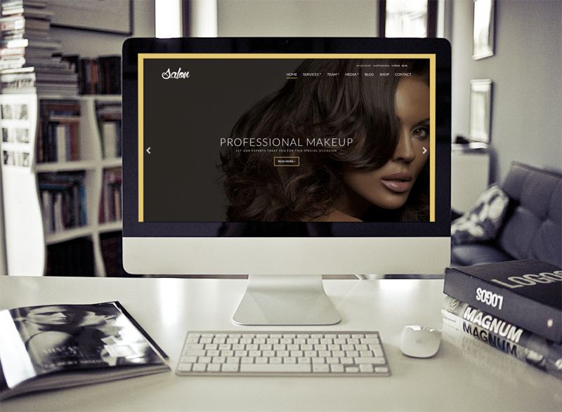 Salon WordPress Beauty Parlor Theme