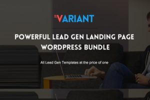 Variant WordPress Lead Generate & 5 Landing Pages Theme