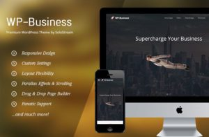 WP Business Theme & Responsive Design Framework