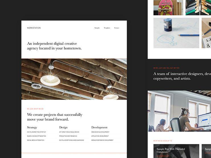 WorkStation Pro WordPress Developers & Artists Theme