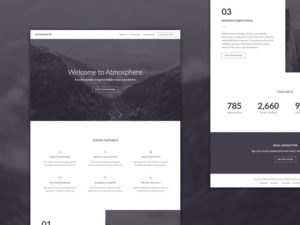 Atmosphere Pro WordPress Genesis Child Theme for Business