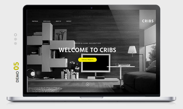CRIBS Architecture WordPress Theme