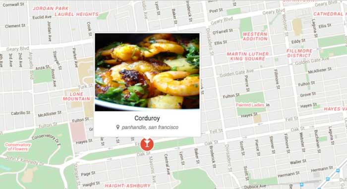 Google-Map-Integration-for-Restaurants