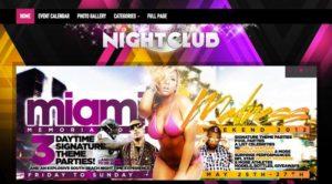 Nightclub WordPress Theme for Bars, DJs & Music Bands