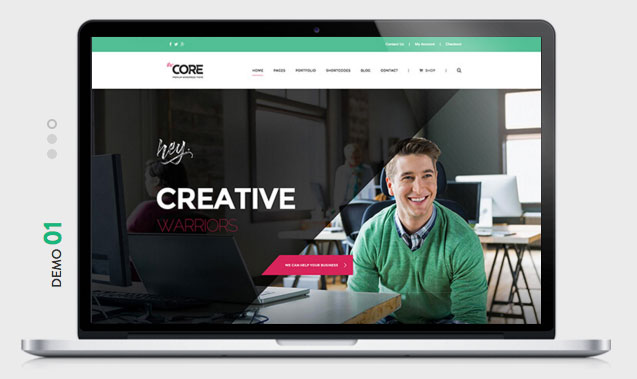 The Core Shop WordPress Theme