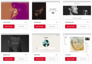 8 Dedicated Music WordPress Themes from AudioTheme