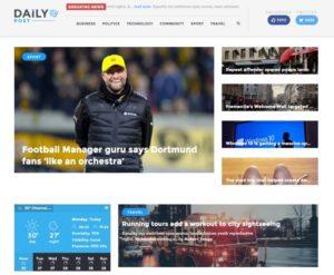 Daily Post WordPress Bold Magazine / Blog Style Theme