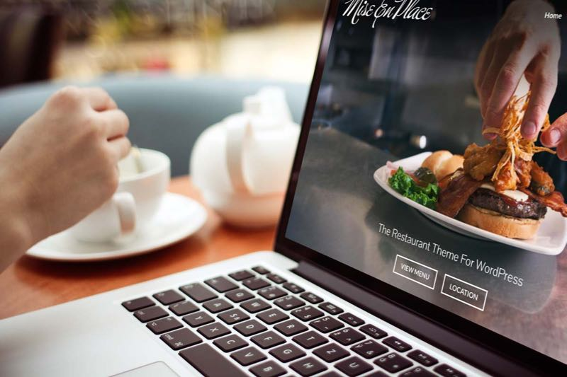 Mise En Place Restaurant Site WordPress Theme