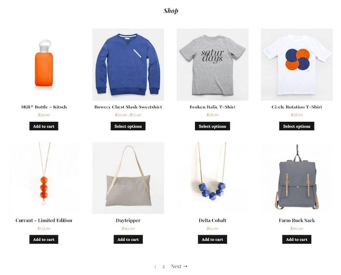 Monte WordPress e-Commerce Theme