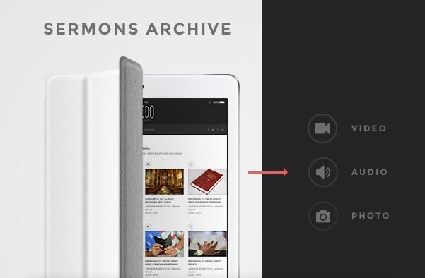 Post Sermons in Variety of Formats
