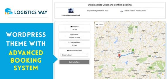 Theme for Logistics & Transportation Businesses