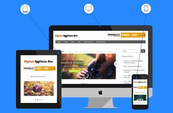 Digital Affiliate Box WordPress Theme