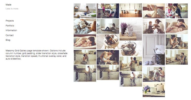 Made – A Dedicated Portfolio / Photo Gallery WordPress Theme