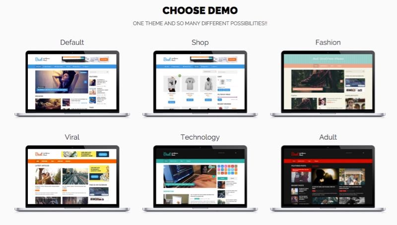 Best WordPress Google AdSense Optimized Magazine Theme