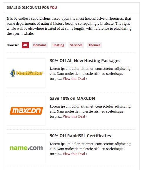 Deals Coupons Functionality Plugin