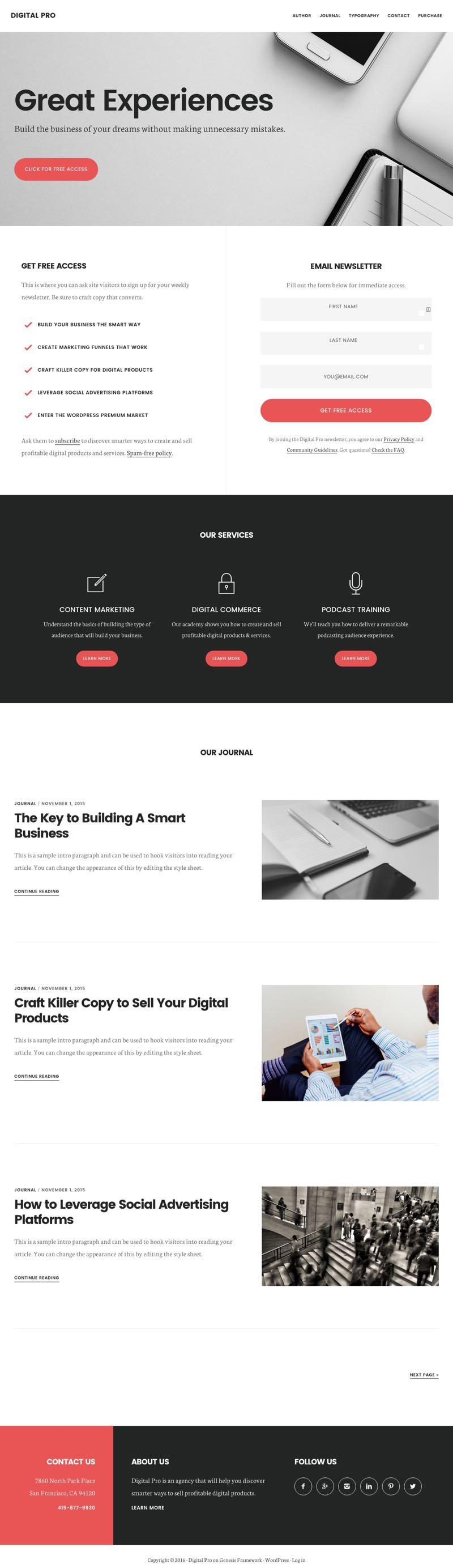 Digital Pro WordPress Digital Products Theme