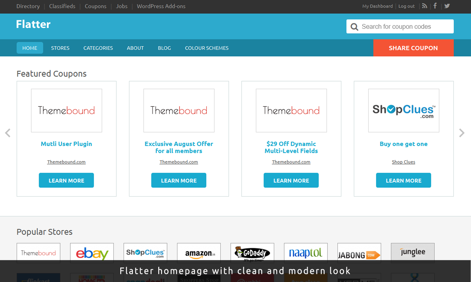 Flatter Child WordPress Theme for Clipper