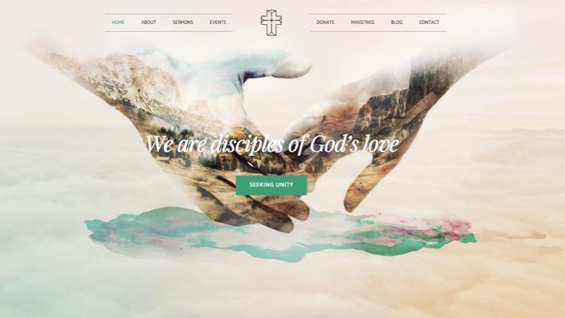 Creed WordPress Church or Donor Theme