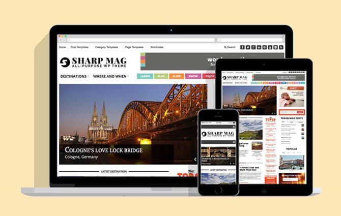 Sharp Mag WordPress Magazine Theme