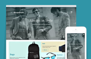 Shopoholic WordPress e-Commerce Theme for Store / Shopping