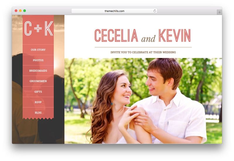 Eternity WordPress Wedding Theme for Special Occasion