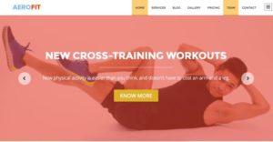 Free One Page Business WordPress Theme