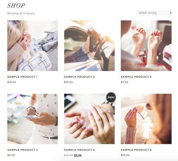 Glam Pro WordPress Theme - Product Page
