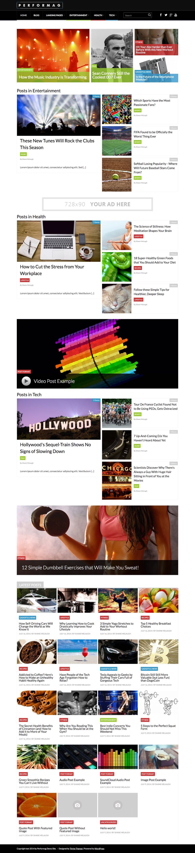 Performag WordPress Profitable Magazine Blog Theme