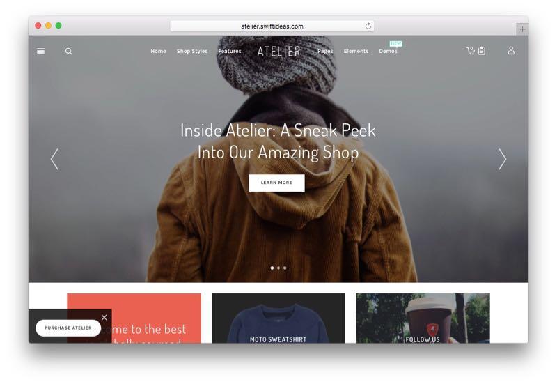 Atelier Multipurpose WordPress WooCommerce Theme