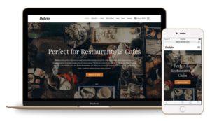 Delicio WordPress Theme for Restaurants & Coffee Shop