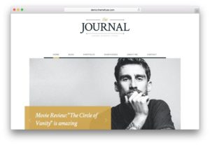 Journal – Free WordPress Blog or Online Magazine Theme