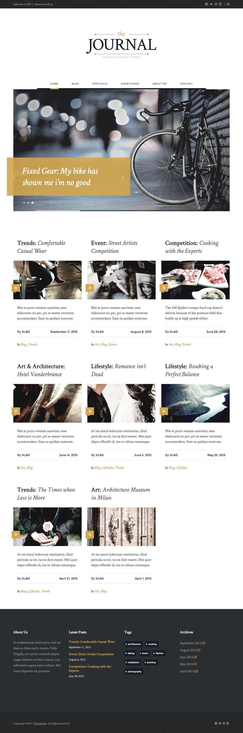 Journal Free WordPress Magazine Theme
