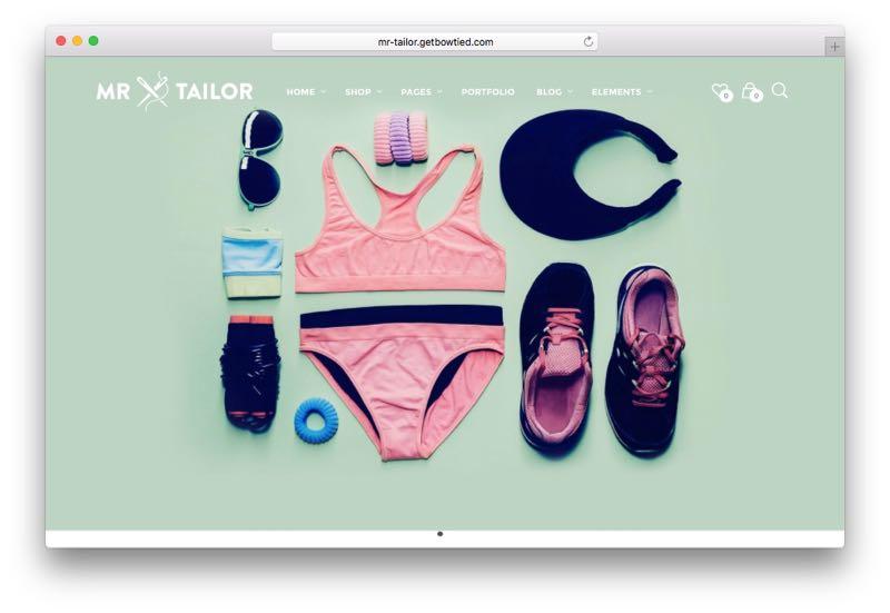 Mr. Tailor Multipurpose WordPress WooCommerce Theme