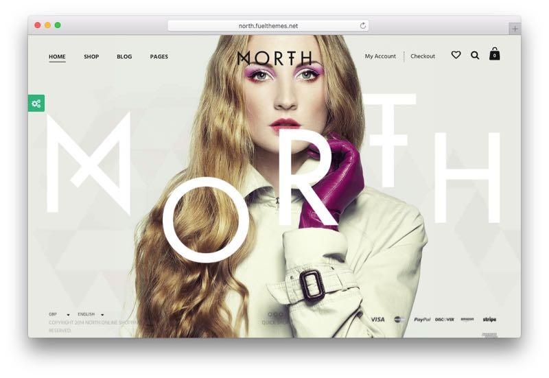 North Creative e-Commerce WordPress WooCommerce Theme