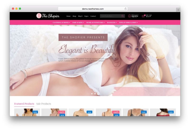 Shopier Creative Clean WordPress WooCommerce Theme