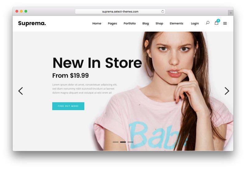 Suprema Powerful Responsive WordPress WooCommerce Theme