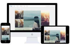 Peak WordPress Grid / Masonry Tiles Layout Theme