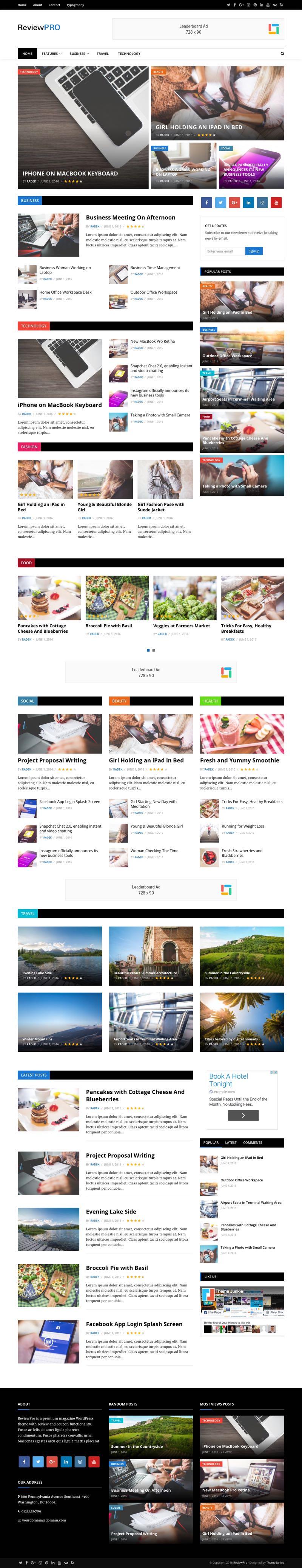ReviewPro WordPress Deals & Coupon Reviews Theme