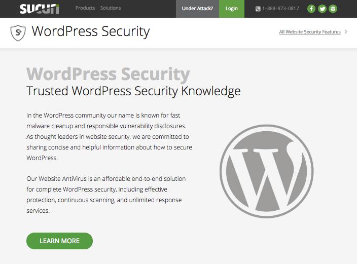 Sucuri Security - Auditing, Malware Scanner & Security Hardening Plugin